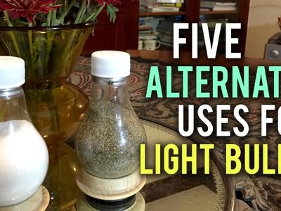 5 Incredible Uses for Old Light Bulbs