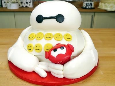 Big Hero 6 Cake & Cupcake
