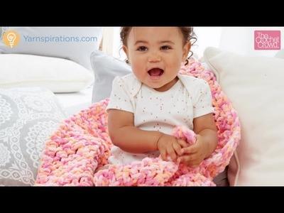 Crochet Rock A Bye Baby Blanket Tutorial