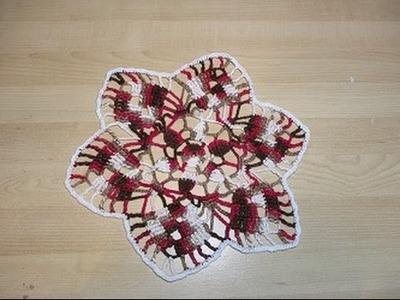 Crochet Uncinetto Centrino  Tutorial