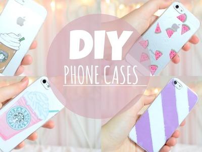 DIY CUTE AND EASY PHONE CASES! | itsLucretia