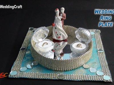 DIY Engagement. Wedding Ring Platter | How to make | JK Wedding Craft 035