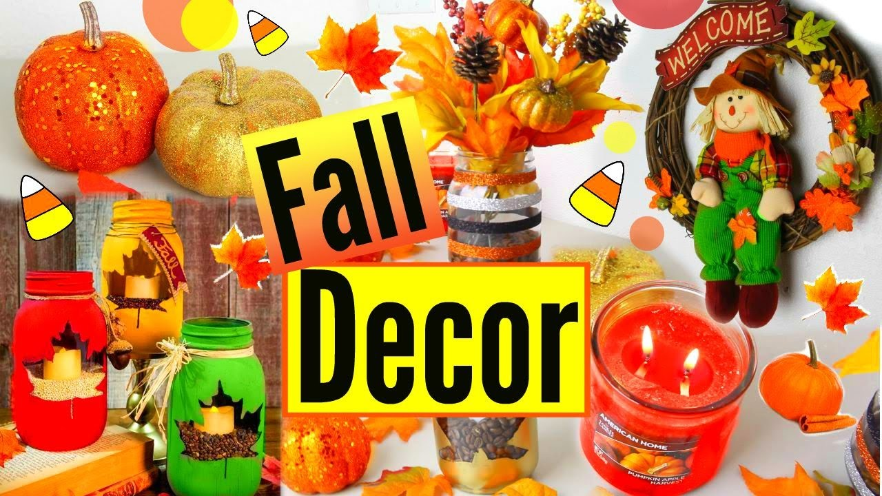 DIY Fall Room Decor 2015! Fall Inspiration | Easy & Cheap Room Decor!