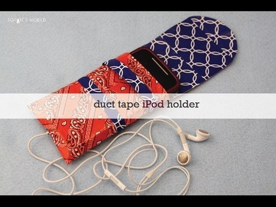 Duct Tape iPod Case|Sophie's World