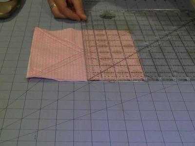 EASY Half Square Triangle Tutorial