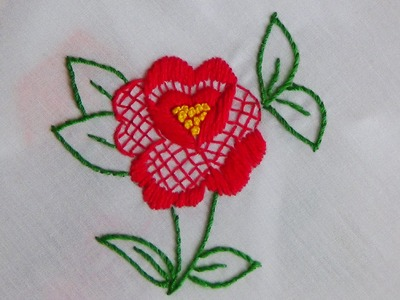 Hand Embroidery: Filling Stitch (Combination)