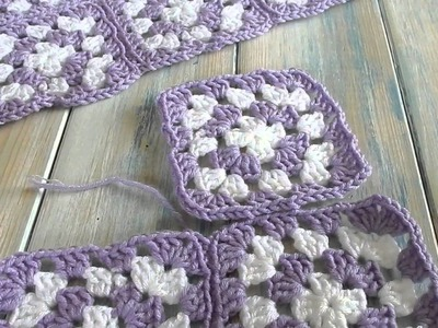 How I joined my Granny Squares - version 2