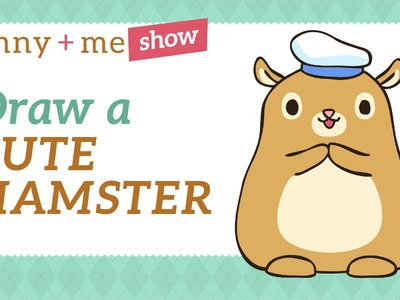 How to draw Hamster - Easy Drawing Tutorial for Beginners