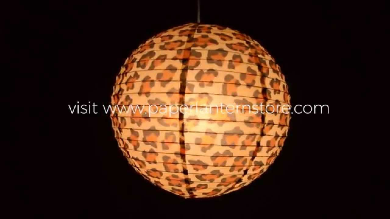 How To Hang Paper Lanterns Using a Single Light Cord