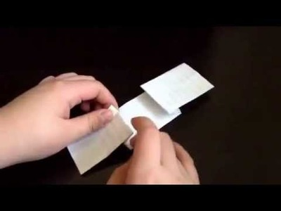How to make a doctor who style origami bow tie