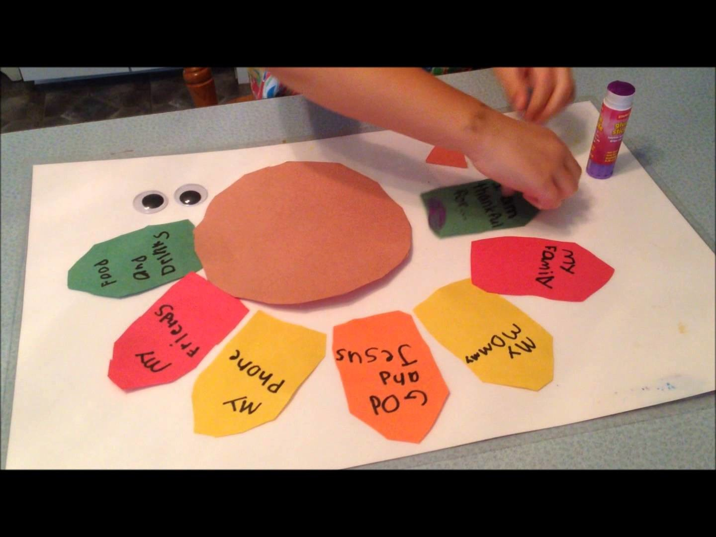 How to Make a Thankful Turkey for a Fun Thanksgiving Craft
