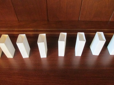 How to make Origami Dominos