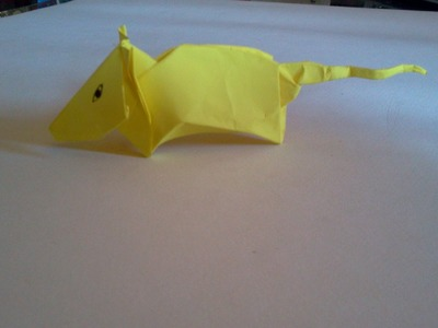 How to make Origami Mouse