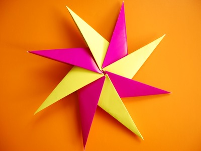 How to make origami ninja star