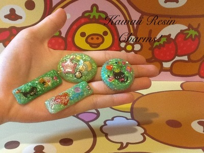 ♥Kawaii Resin Charms Tutorial (Basic Technique)♥