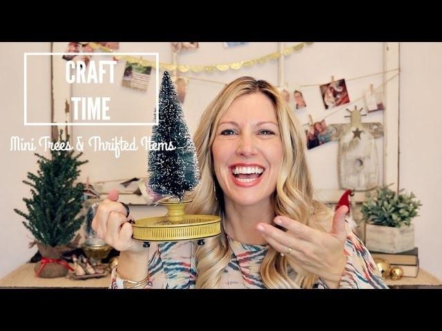 Miniature Christmas Tree Craft   DIY   Jenny On The Spot