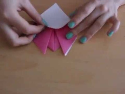Origami Animal : How To Make Origami Pig Face