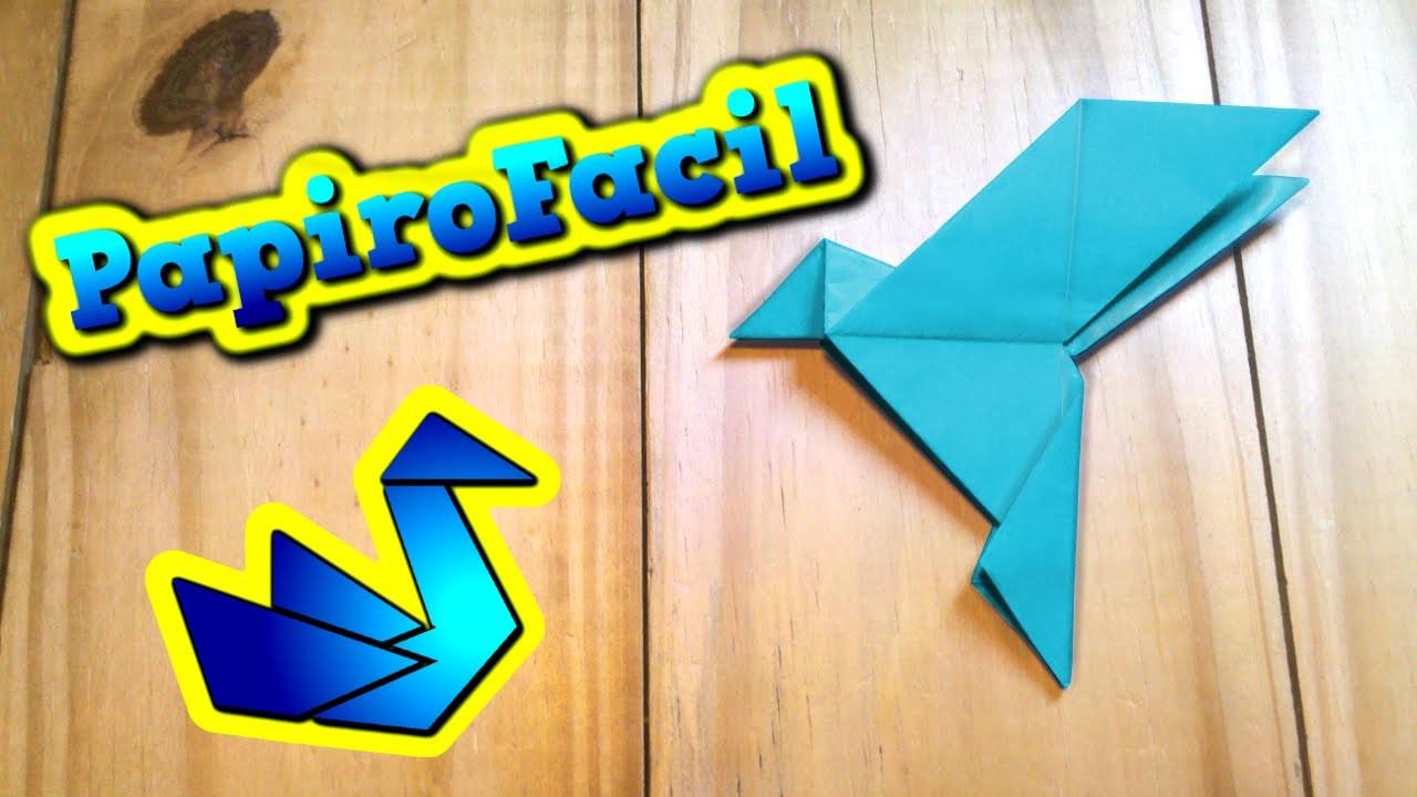 ORIGAMI FACIL || Como hacer una paloma de papel