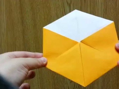 Origami Magical Transforming Octahedron, Designed By Jeremy Shafer - Not A Tutorial