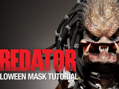 Predator Halloween mask tutorial