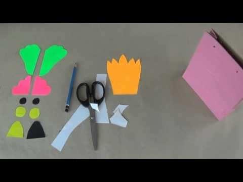 Recycled ideas I Making hand puppet funny bird using paper bag