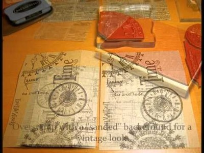 """Tutorial: Paper Coin Envelopes 3 1.2"""" x 2""""  by Deena Perreault"""