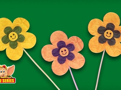 Arts & Crafts - Learn to Make a Flower Bookmark
