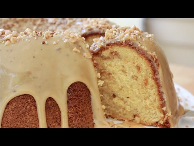 Brown Sugar Caramel Pound Cake ~ MAKE IT!!