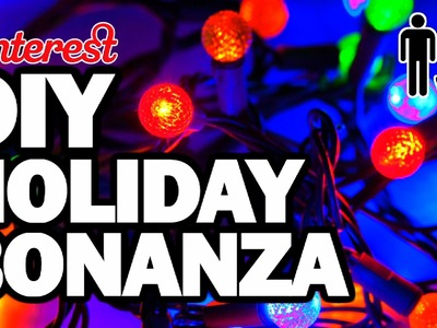 DIY Holiday Bonanza - Man Vs Pin - Pinterest Test #75