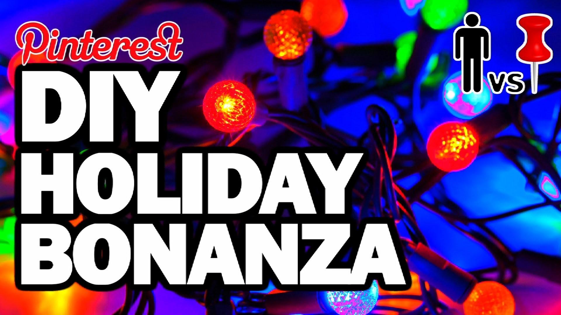 DIY Holiday Bonanza - Man Vs Pin - Pinterest Test #75