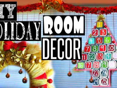 DIY HOLIDAY ROOM DECOR 2015 - HowToByJordan