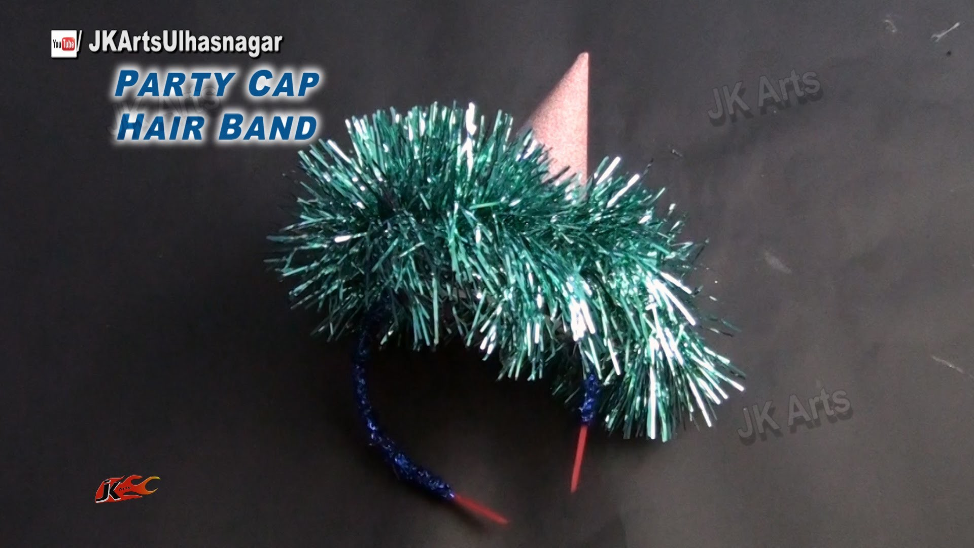 DIY Party Prop Cap for New Year, Christmas, Birthday   How to make   JK Arts 823