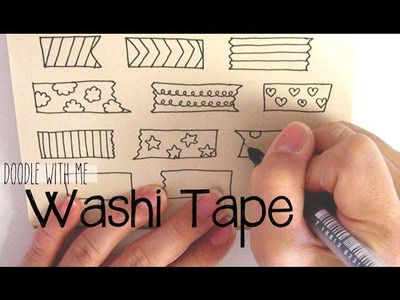 Doodle with Me: Washi Tape