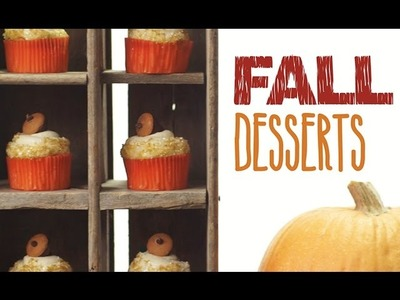 Fall Cupcakes & Autumn Inspired Party Ideas by My Cupcake Addiction