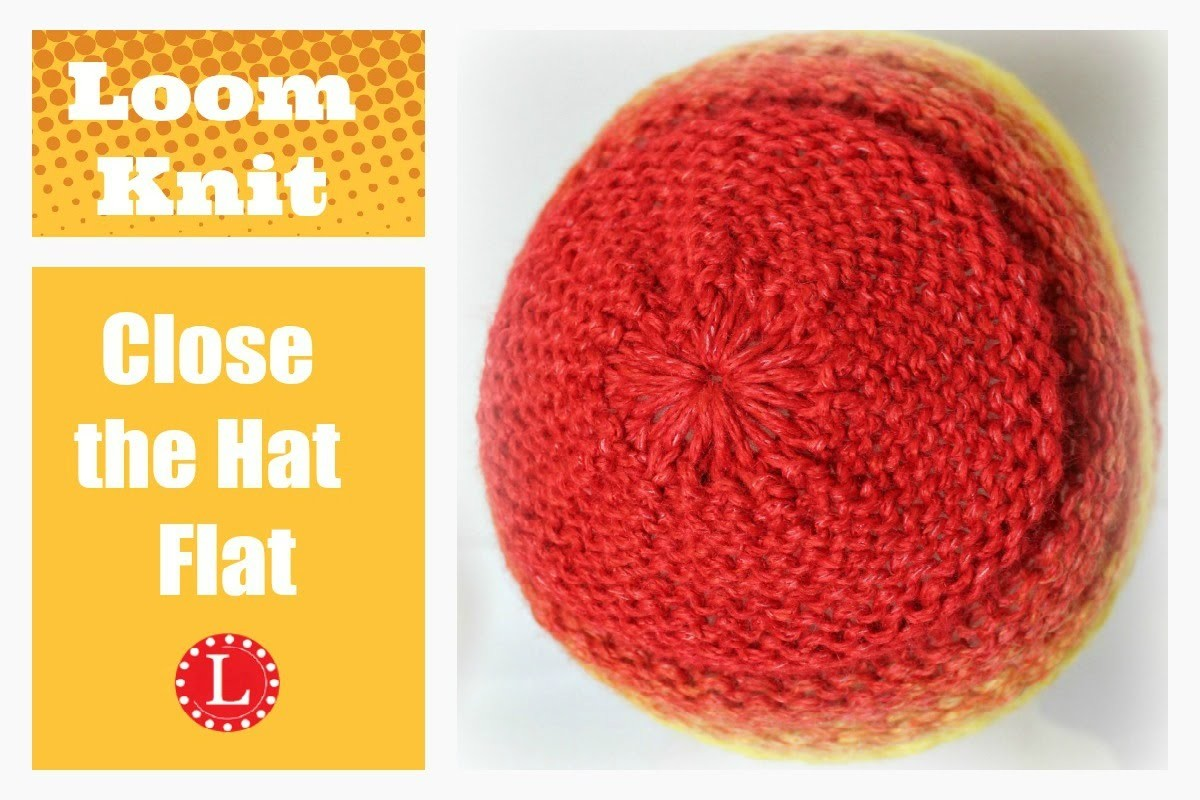 Finish the Hat Flat - No Bumps No Wrinkles  Decreased Crown Bind-off