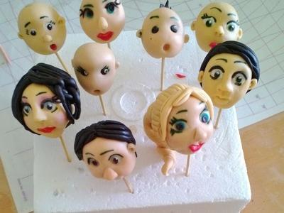 Hair for Gum paste Figures by VAOC