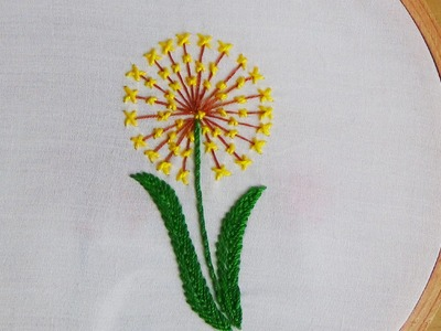 Hand Embroidery: Long & Cross Stitch