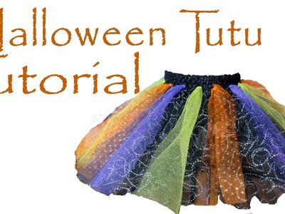 Holiday No Sew Tutu Tutorial (Halloween, Christmas, or any Occasion!)