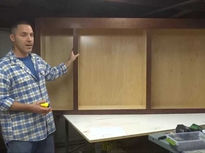How To Build Your Own Kitchen Cabinets: Part 4