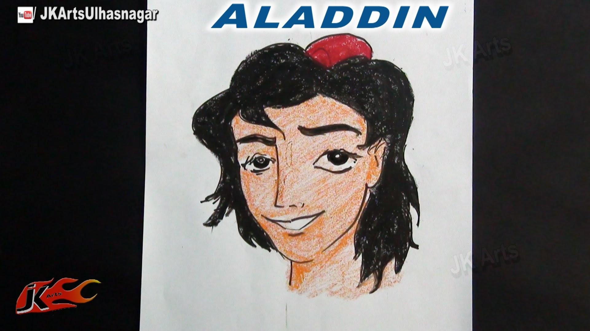 How to draw Aladdin  | JK Arts 759