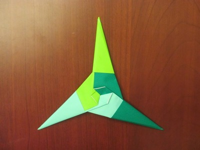 How to make an Origami 3-Point Ninja Star