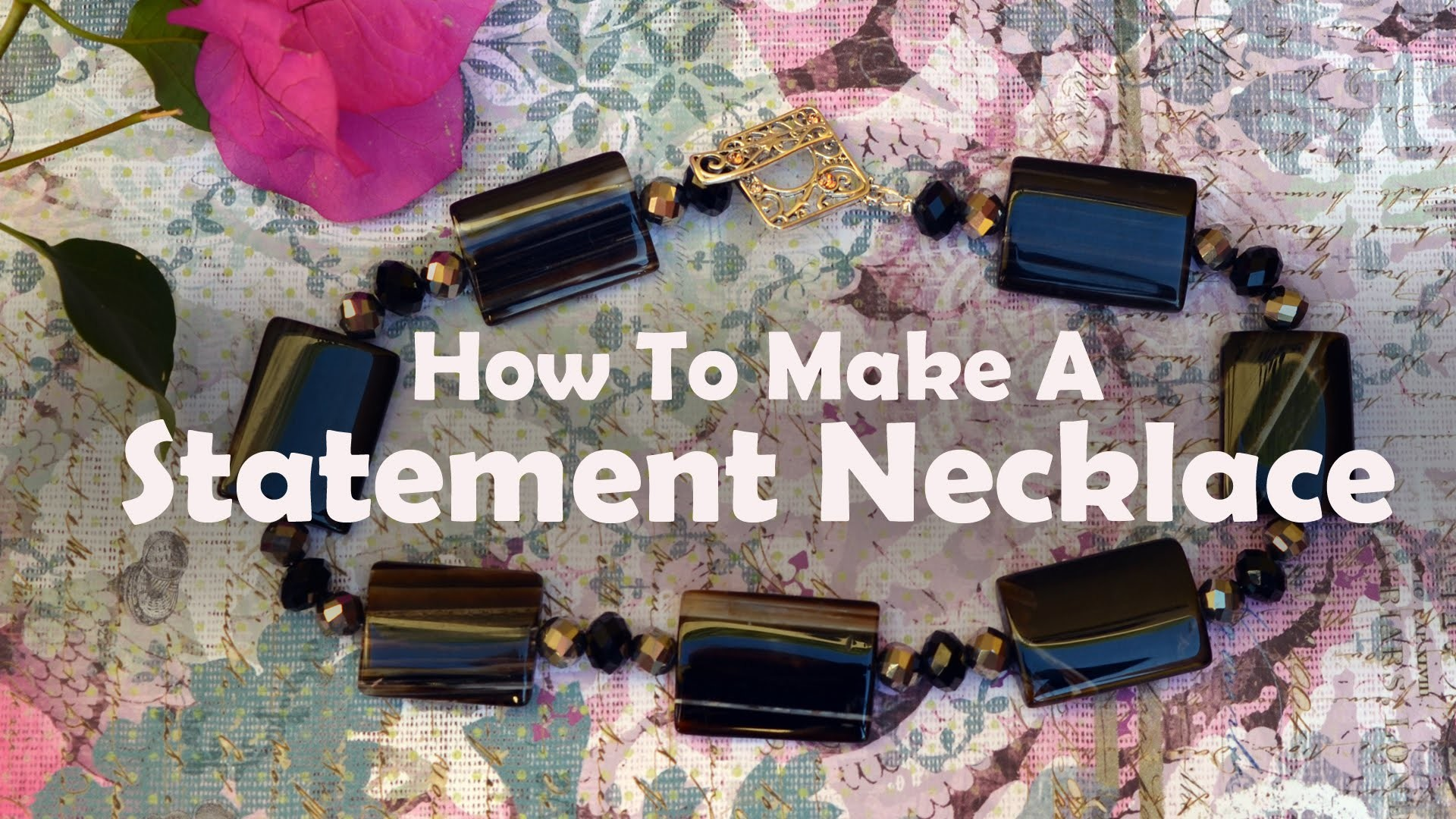 How To Make Jewelry: How To Bead A Necklace
