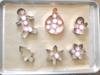 How to Make Peppermint Candy Ornaments