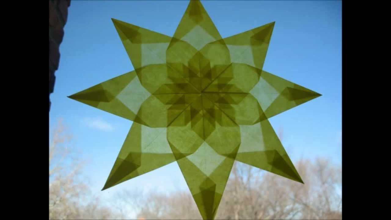 How To: Waldorf Window Star - Tutorial Version 1