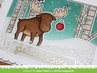 Lawn Fawn | Snowy Backdrops