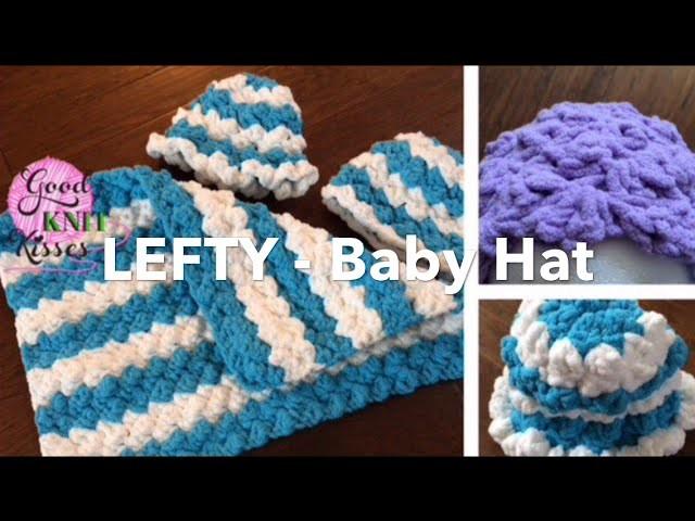 Lefty Marshmallow Crochet Baby Hat CAL  - Left Handed