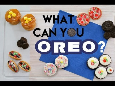 OREO Treats! Cakes, Pancakes, Tacos and More | What Can you OREO??