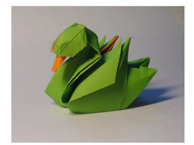 Origami duck by hoàng tiến quyết
