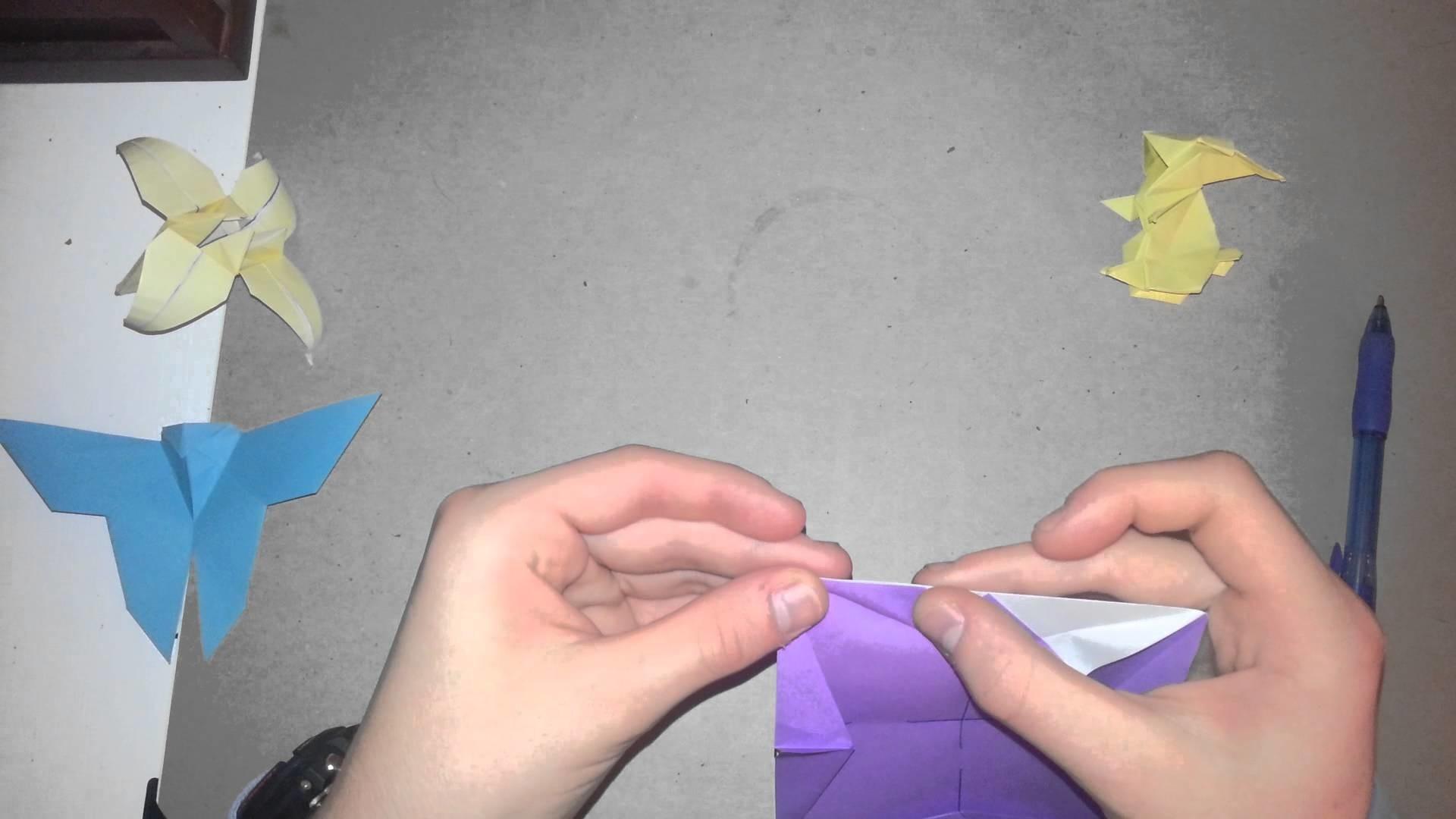 Origami Tutorial - How to Fold A Rabbit Pt. 1 (Jun Maekawa)
