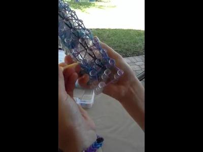 Rainbow loom (twistz bandz) triple bracelet tutorial!!